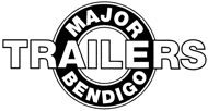 Major Trailers Bendigo logo